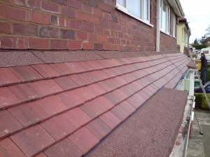 Tiled canopy installations Wolverhampton