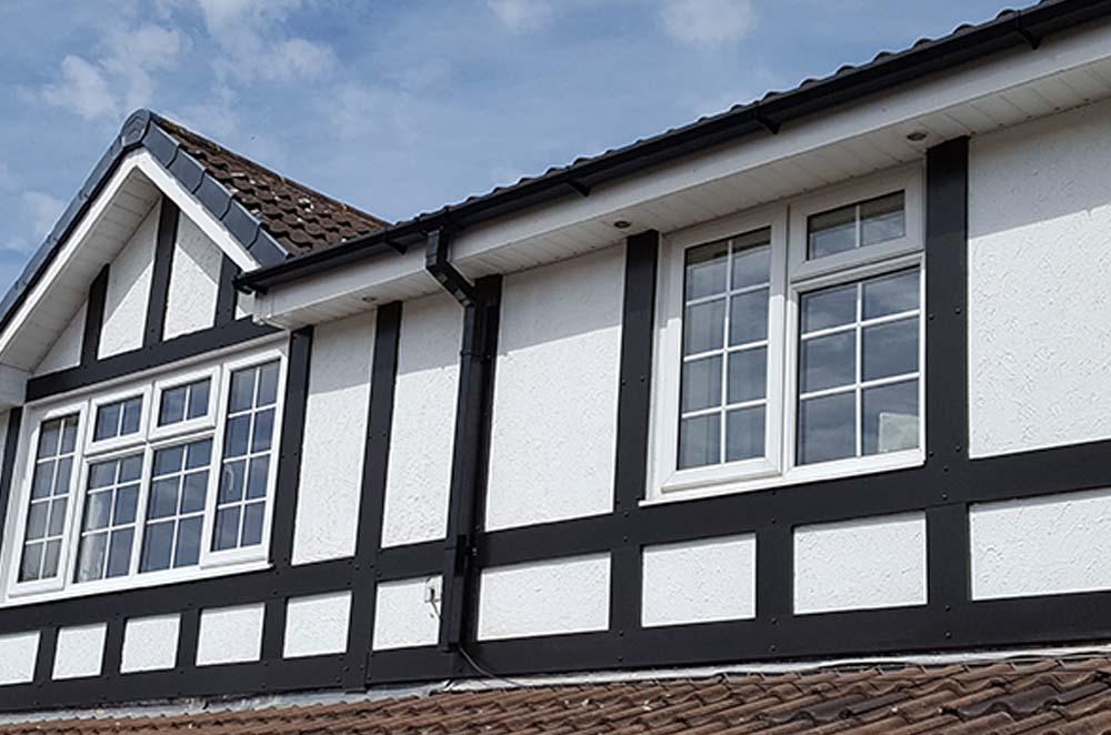 upvc Cladding & Tudor Boards in Aldridge, Wolverhampton and West Midlands