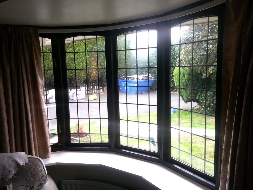upvc bow windows