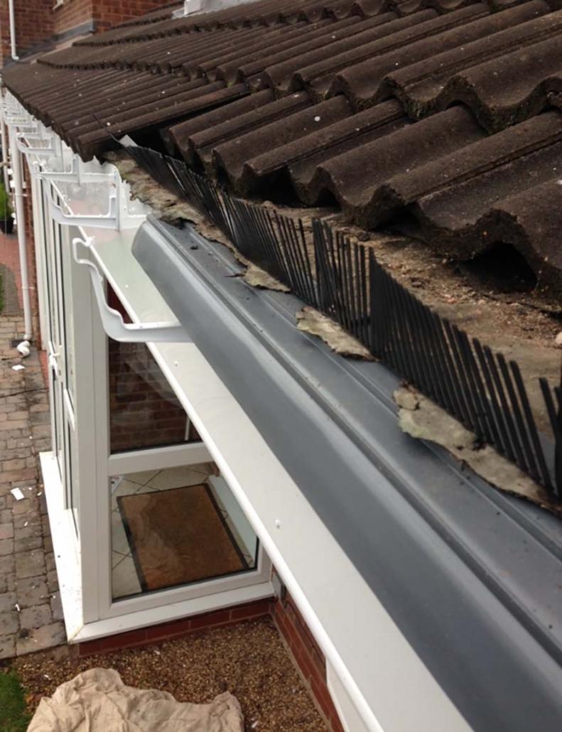 upvc eaves protection Shrewsbury