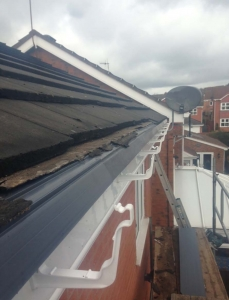 upvc eaves protection Telford
