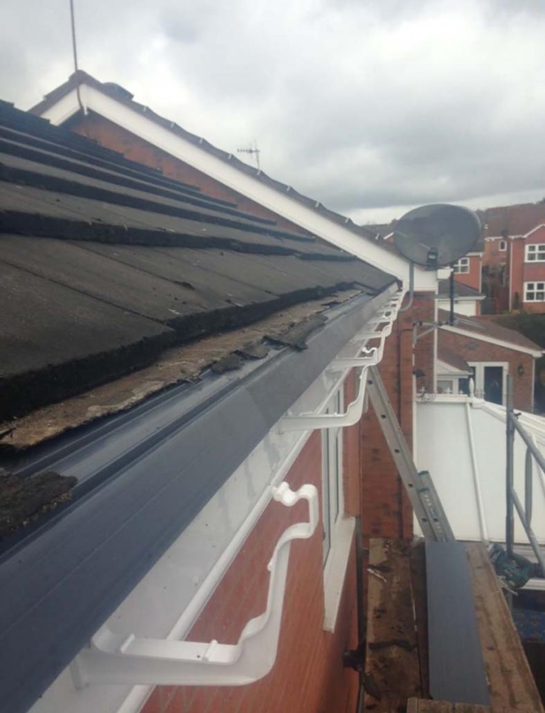 upvc eaves protection Telford