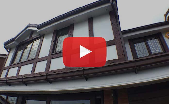 upvc mock tudor boards video