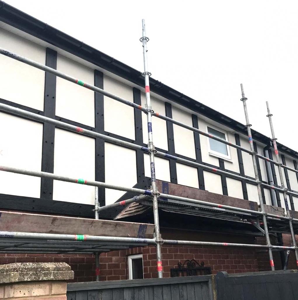 replica mock tudor boards Sutton Coldfield